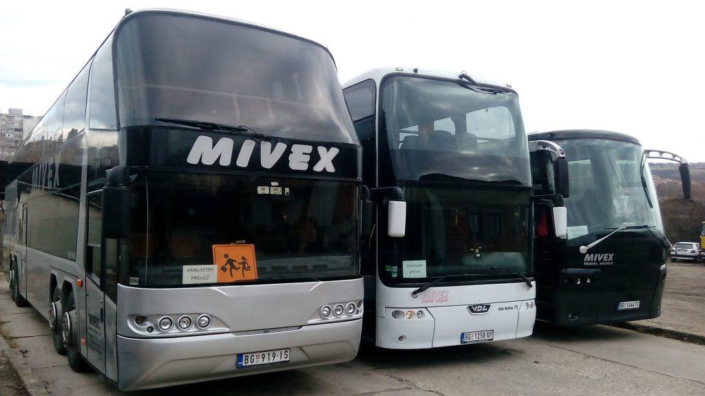 Megaliner 95+2 / Bova Sinergy 81+3 / Bova Magiq 56+2